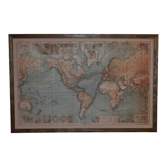 Large Full Colour Light Up Map