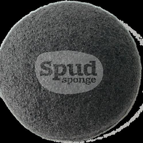 Charcoal Konjac Spud Sponge