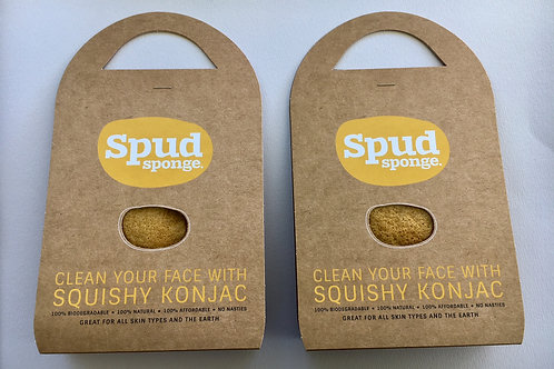 Turmeric Spud Sponge Duo