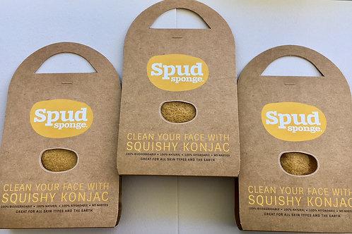 Turmeric Spud Sponge 3 Pack