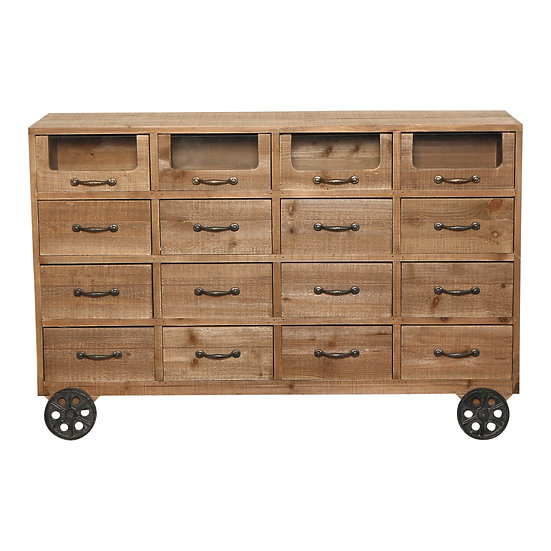 Drawer Buffet on Wheels