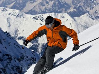 Как сэкономить при покупке бассейна катаясь на лыжах.