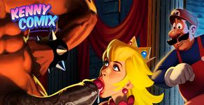 Princess Training - Cartoon Pinup (Preview)