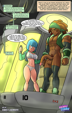 Bulma Discovers New Androids [Rabies - K