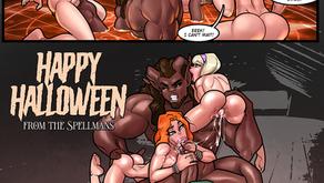 Spellman Halloween - Short Comic