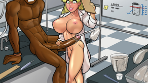 Betty's Science Report - Pinup