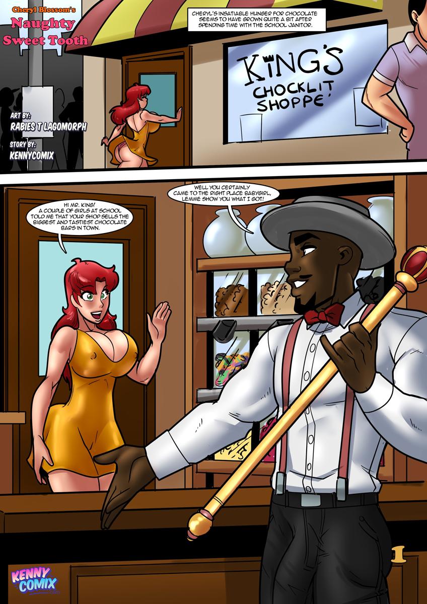 Cheryl's Naughty Sweet Tooth - 001 [Rabi