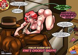 Penelope Blossom Visits King's Chocklit