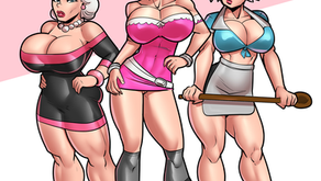 Miss Grundy's Detention Squad - Pinup