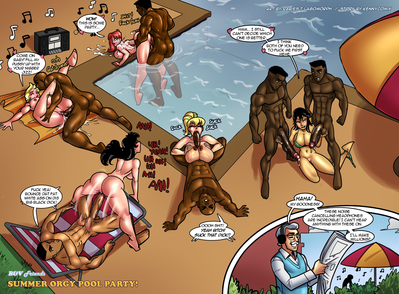 B&V - Summer Orgy Pool Party (Rabies - K