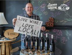 bill grassie love local wine
