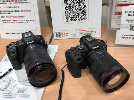 「EOS R5」「EOS R6」先行展示・予約体験に当選しました。
