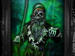 Ghostly Locker Inhabitant