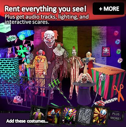 Evil Clowns - Prop + Lighting Pack