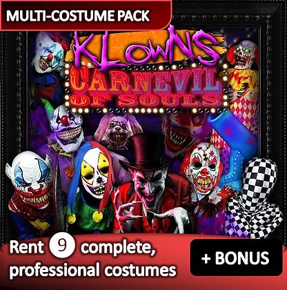 Evil Clowns - costume pack