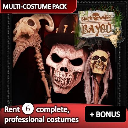 Bones Bayou - costume pack