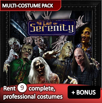 Zombies & Milt. - costume pack