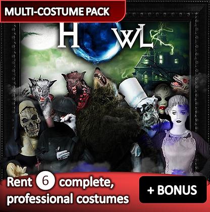 Werewolf & Ghost - costume pack