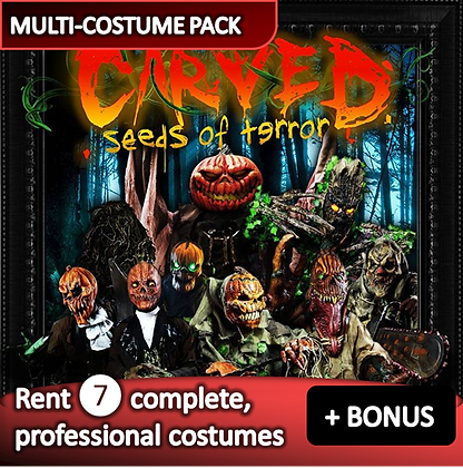 Carved - costume pack