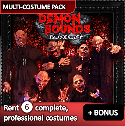 Vampires/ Demons - costume pack