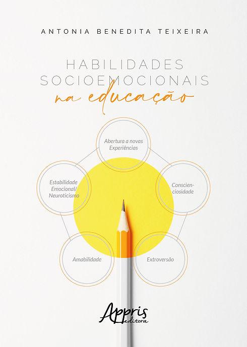 CAPA DO LIVRO HABILIDADES SOCIOEMOCIONAI