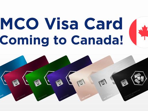 Une carte Visa MCO bientôt disponible au Canada!