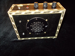 The Black Brickhouse Amp (Front)