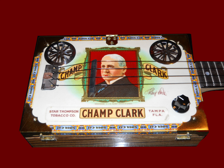 A Custom Champ Clark Uke