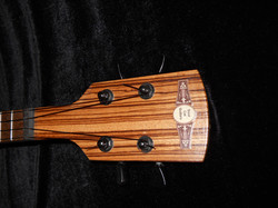 The Zebrawood Headstock