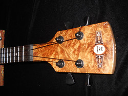 "The Soul Cat ""Musk Burl"" Headstock"