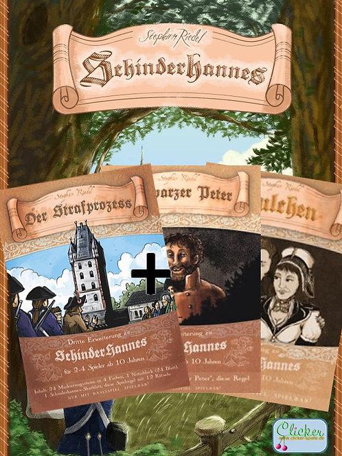 Schinderhannes Set (inkl. 1., 2. und 3. Erweiterung und Solo Regeln)