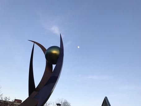 Moon over Aspire