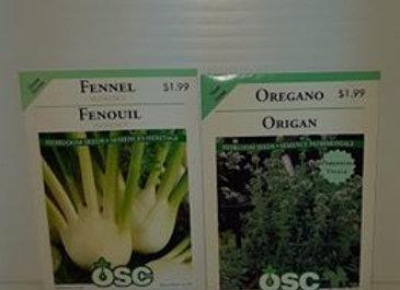 Seeds - Herbs