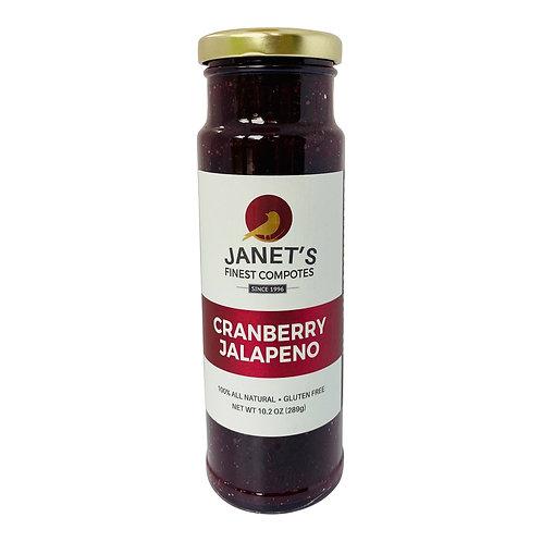 Cranberry Jalapeno, 10 oz- 12 jars
