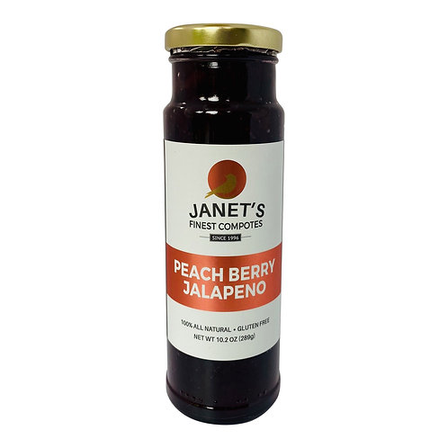 Peach Berry Jalapeno, 10 oz