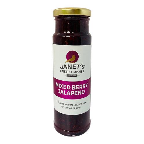 Mixed Berry Jalapeno, 10 oz