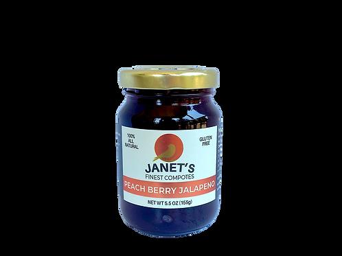 Peach Berry Jalapeno, 5 oz - 24 jars