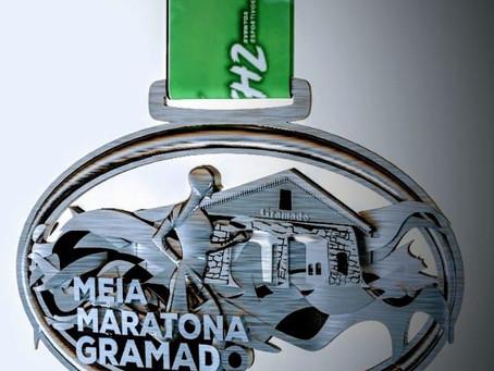 Medalha  2021 - Meia Maratona