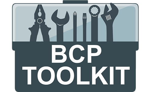 BUSINESS CONTINUITY PLANNING - TOOLKIT
