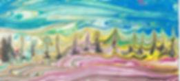 Рисвание эбру на мастер-классе для детей и взрослых с ОВЗ