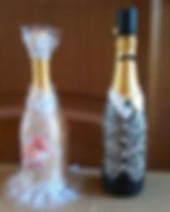 подарочня бутылка своими руками на мастер-классе для взрослых с ОВЗ