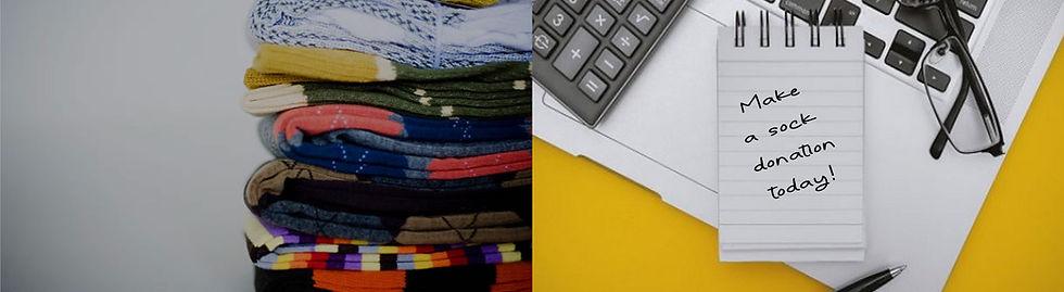 Sock drawer donations.
