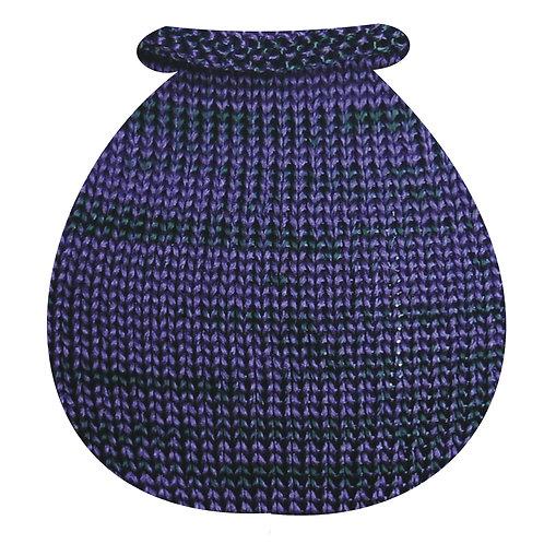 Purple T - Bottle Green