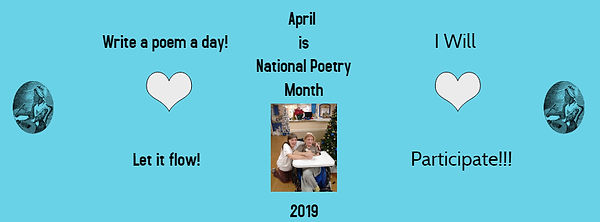 National Poetry Month 2019 - Made with P