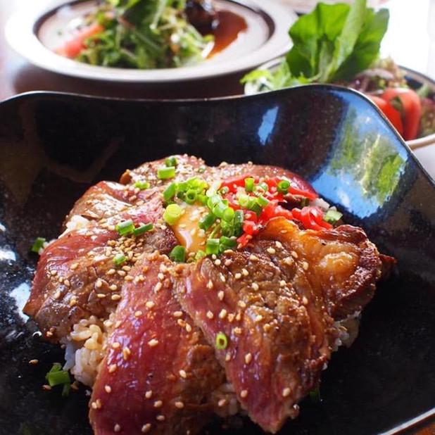 VAGABOND(バガボンド)VAGABONDオリジナルステーキ丼1296円込
