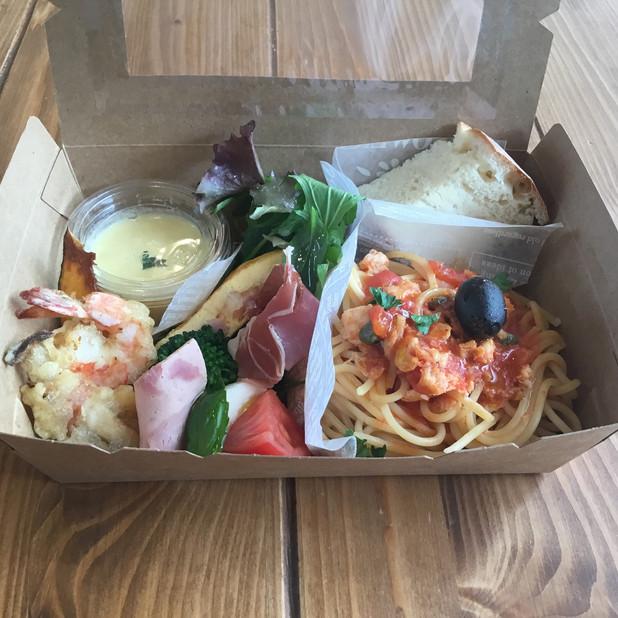 農家レストラン&チーズケーキ専門店Sorriso(ソリッソ)(パスタBOX税込1,080円)