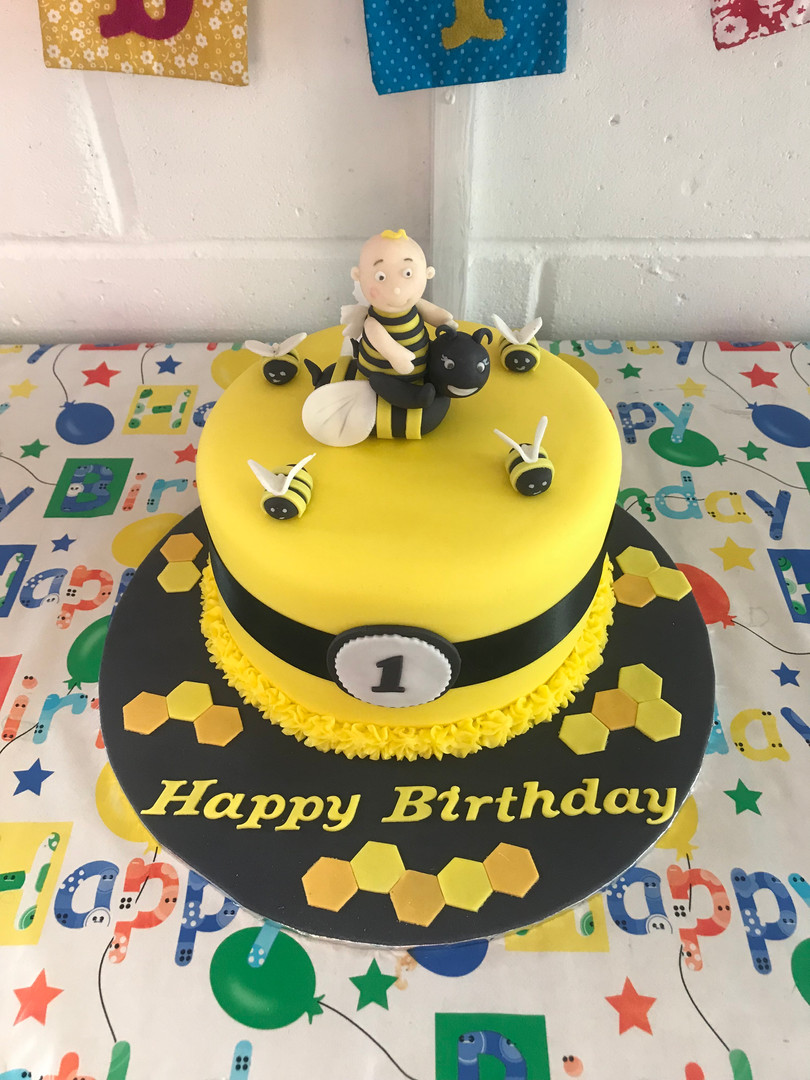 Baby Bees first birthday party
