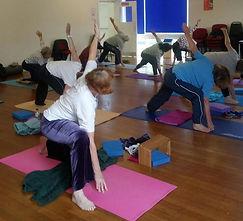 Yoga Hive class Nunthorpe Academy