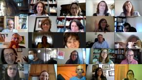 Conclusões e gravação do encontro virtual de professores do projeto