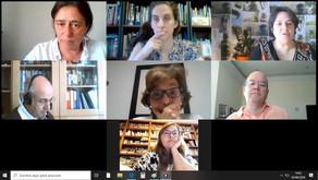 """Reunião virtual com os Centros de Formação do projeto """"Vamos Cuidar do Planeta"""""""